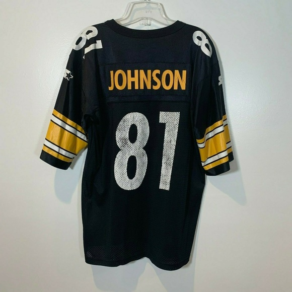 the best attitude c45b4 6d315 Charles Johnson Pittsburgh Steelers Jersey Vintage